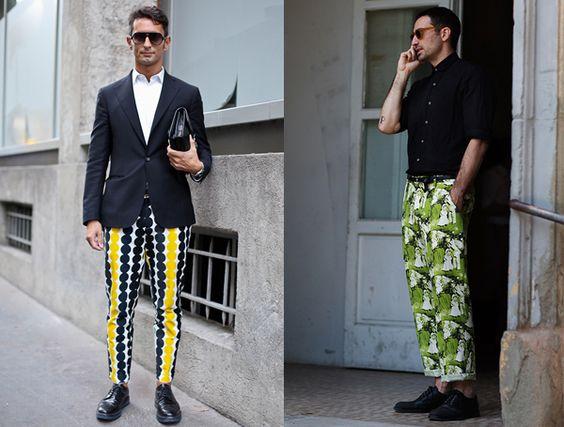 Calças estampadas masculina, para os estilosos!: