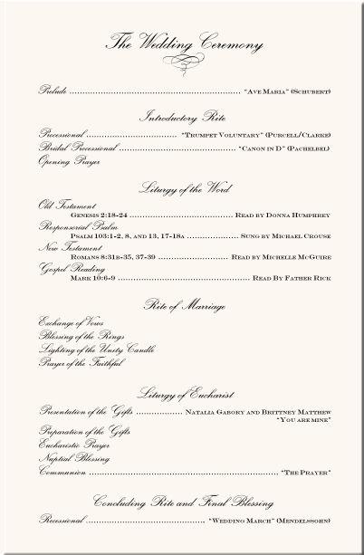 Ceremony Programs Wedding Ceremony Programs And Wedding Programs On Pinterest