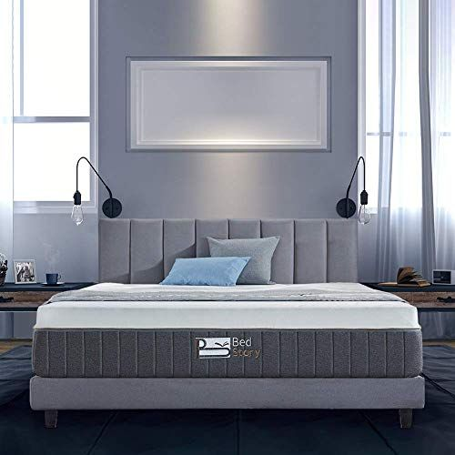 New Bedstory 12 Inch Gel Memory Foam Mattress King Bamboo Charcoal Infused Breathable Bed Mattress Certipur Us Certified Foam 10 Year Warranty Online In 2020 Queen Memory Foam Mattress Foam Mattress Gel Memory