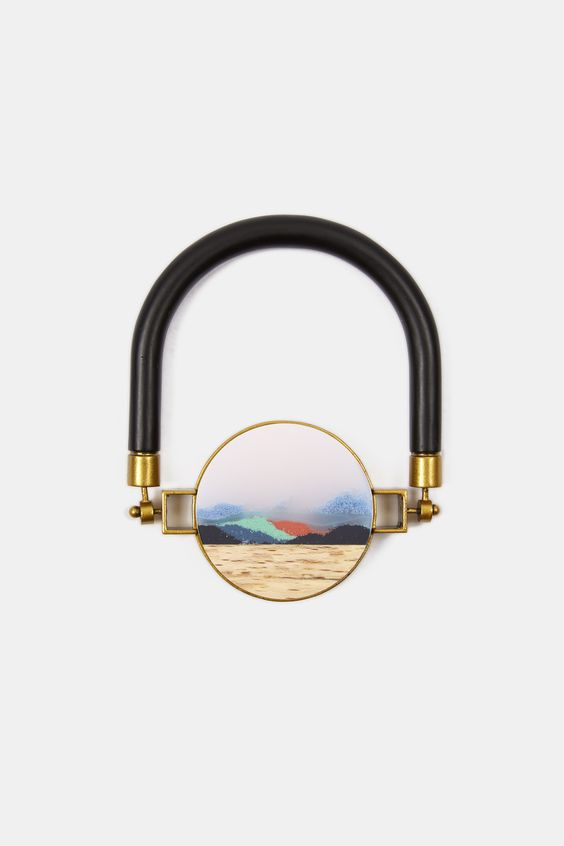 SUNSET TURN-A-ROUND BANGLE by Ejing Zhang
