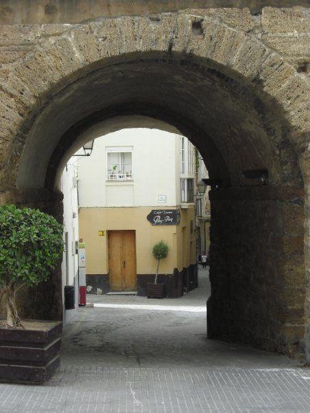 Barrio del Pópulo Cádiz