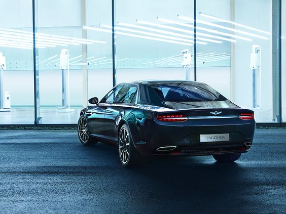 The new Lagonda Sedan by Aston Martin - via www.themilliardaire.co @astonmartin #supercars