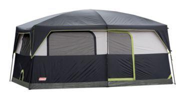 Coleman 174 Prairie Breeze 9 Person Cabin Tent Portable