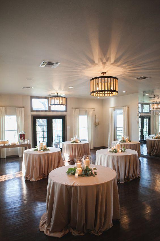 Stonehouse Villa Wedding | Champagne Linens | stemfloral.com | gaebr.com | stonehousevilla.com