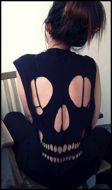 My Zara skull-shirt                                                       …