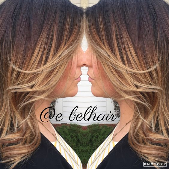 Blonde Balayage ombre