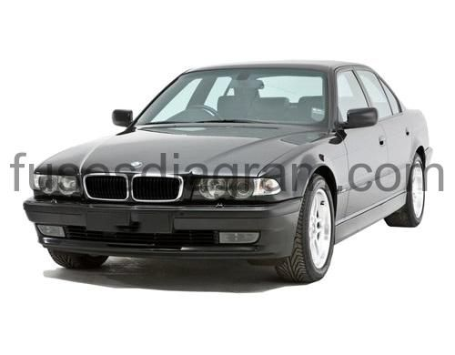 Fuse Box Diagram Bmw 7 E38 1994 1995 1996 1997 1998 1999 2000 2001 Fuse Box Bmw Bmw E38