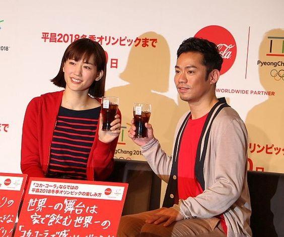 「コカ・コーラ」平昌2018冬季オリンピック応援キャンペーン発表会にて高橋大輔さん