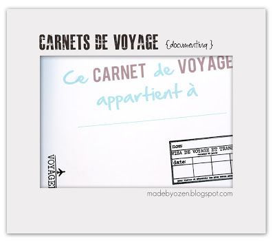 made by ozen carnet de voyage pour enfant les. Black Bedroom Furniture Sets. Home Design Ideas
