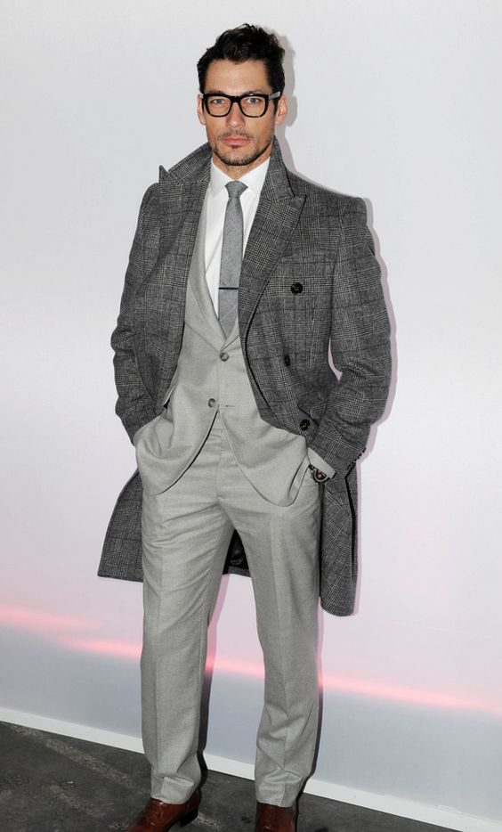 All gray and all business. This is right in so many ways | Dapper ...