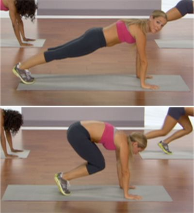 Abs: Plank Pikes, Health Fitness, Flat Stomach, Ab Exercises, Ab Workouts, Work Out, Fitness Workout