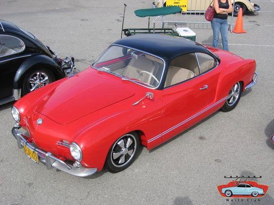 Red and Black Karmann Ghia