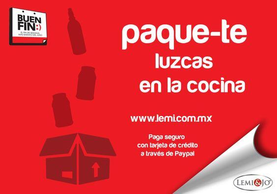 Y paque-te luzcas en la cocina, este #BuenFin llévate 3 frascos de Lemi-Sano y 1 two-pack de Lemi-Juice a precio especial.  Además de damos un kit de cocina de #regalo.  Compra en nuestra tienda online con PayPal http://lemi.com.mx/productos/32-paque-te-renueves.html o escríbenos a pedidos@lemi.com.mx y aparta tu paquete.