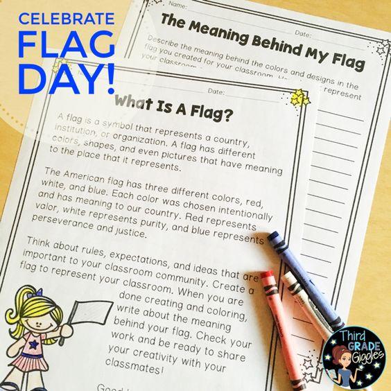 flag day lesson plans elementary