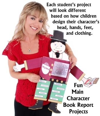 creative book reports for elementary students Go beyond the book report with these creative ideas to get gifted learners  so,  when the powers-that-be requested that our students write book reports, i just.