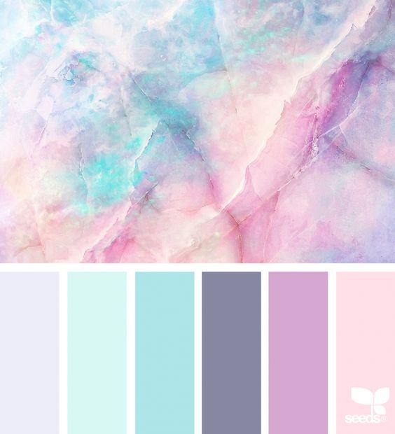 Pink Purple and Blue wedding 4