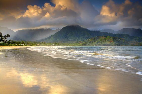 Hanalei Mist - Kauai, Hawaii