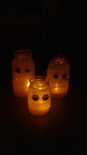 Pot masson  décoration halloween