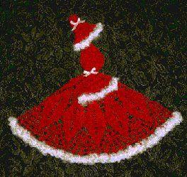 Artesanato Fofo: Mamãe Noel em crochê?