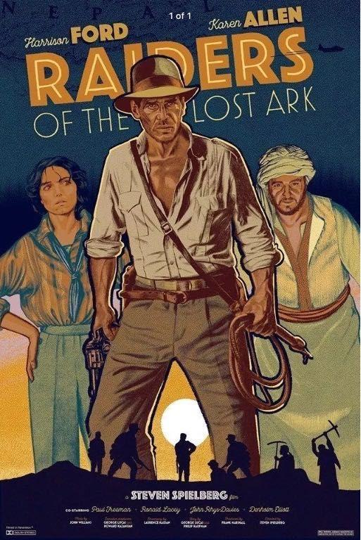 Pin By Oliver Jenkins On You Call Him Doctor Jones Indiana Jones Indiana Jones Adventure Movie Posters