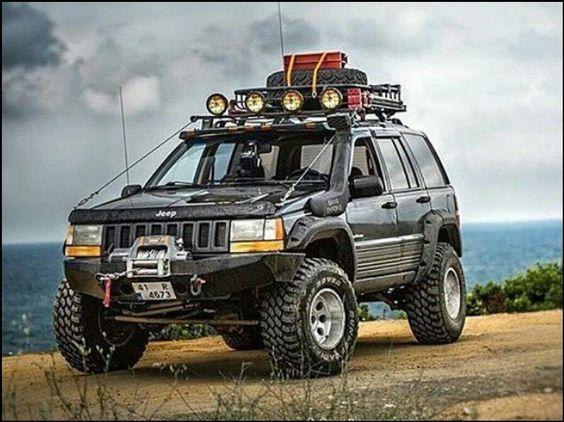 """Jeep Grand Cherokee. Kind of looks like mine. I call mine """"Weezy"""", she's awesome!!!"""
