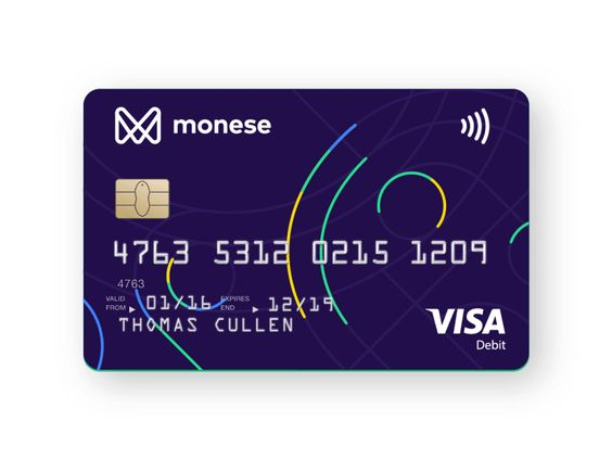 Monese's new debit card by Harry Galuszka #Design Popular #Dribbble #shots