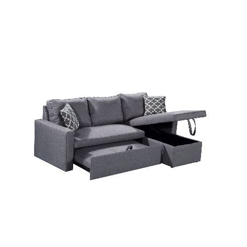 husky zara reversible sectional sofa 3