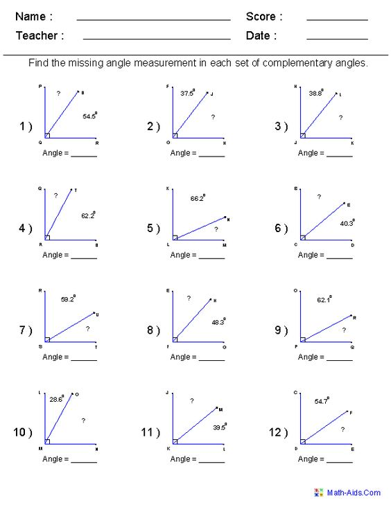 Printables High School Geometry Worksheets geometry worksheets angles for practice and study study