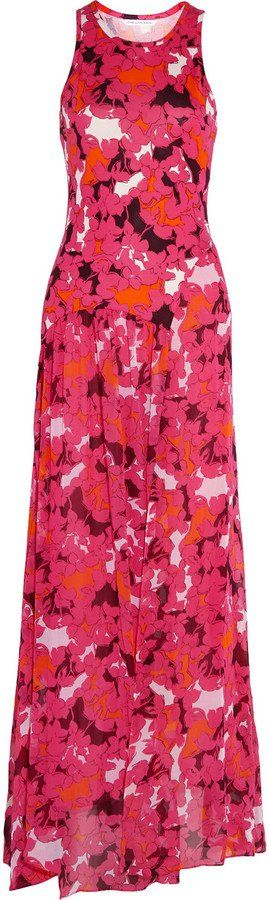Pin for Later: Perfect Maxi Dresses to Wear to Summer Weddings Diane von Furstenberg Davina Printed Silk Maxi Dress Diane von Furstenberg Davina Printed Silk Maxi Dress (£550)