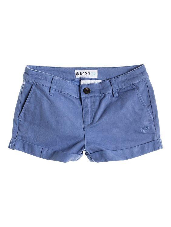 Mahalo - ROXY Roxy Shorts für Mädchen  Die Mahalo sind Teil der Roxy Frühjahr/Sommer Apparel Kollektion 2015. Diese Shorts für Mädchen zeichnen sich durch einen gerollten Saum und einen befestigten Bund aus. Weitere besondere Features sind: Stretch-Baumwolle für mehr Komfort und Mischgewebe aus 97% Baumwolle, 3% Elastan.  Merkmale:  Roxy Shorts, Gekrempelter Bund, Feste Taille, Stretch-Ba...