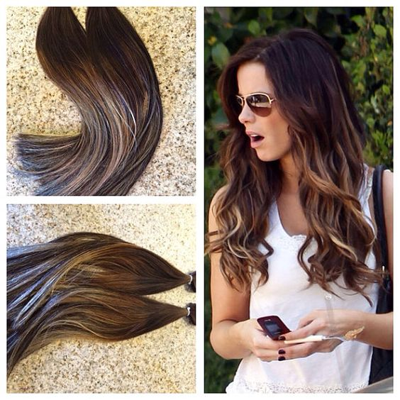 Tape hair extensions balayage trendy hairstyles in the usa tape hair extensions balayage pmusecretfo Image collections