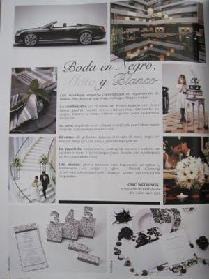 Chic weddings en la revista Lucía se casa...