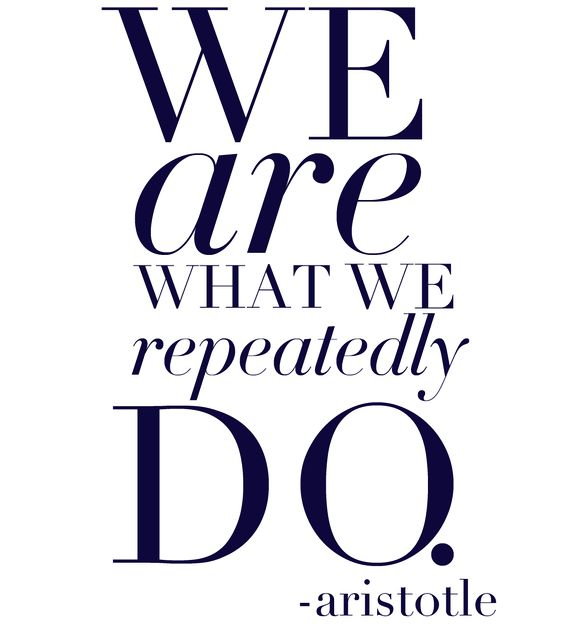 Aristotle's insight!