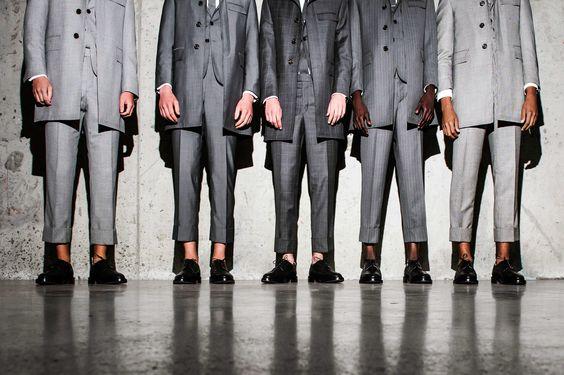 Thom Browne's Men's Fashion Week 2015 Presentation