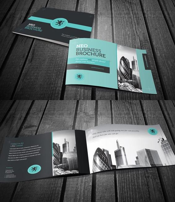 creative corporate brochure design and corporate design