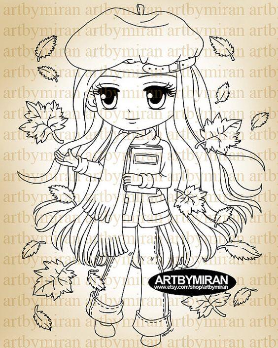 Memoirs112 de sello digital-otoño sello de Digi por artbymiran