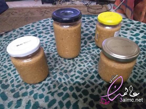 مكونات زبدة الفول السوداني فول سوداني مطحون طريقة عمل زبدة الفول السوداني Mason Jars Jar Mason