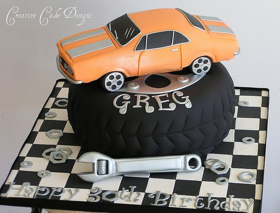 Chevy Bel Air Cakepinscom Cake Ideas Pinterest Cake - Car engine birthday cake