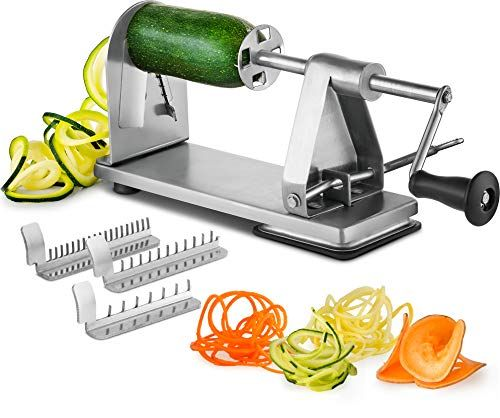 Zoodle Maker Reviews 15 Best Spiralizers Of 2020 Themodemag Spiralized Vegetables Zoodle Maker Zucchini Spaghetti Maker