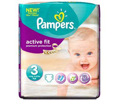 Pampers Active Fit is de droogste en best passende luier van Pampers. Ontdek een luier die supergoed absorbeert en perfect aansluit.