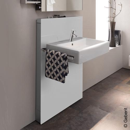 Geberit Monolith Sanitarmodul Fur Waschtisch Fur Standarmatur