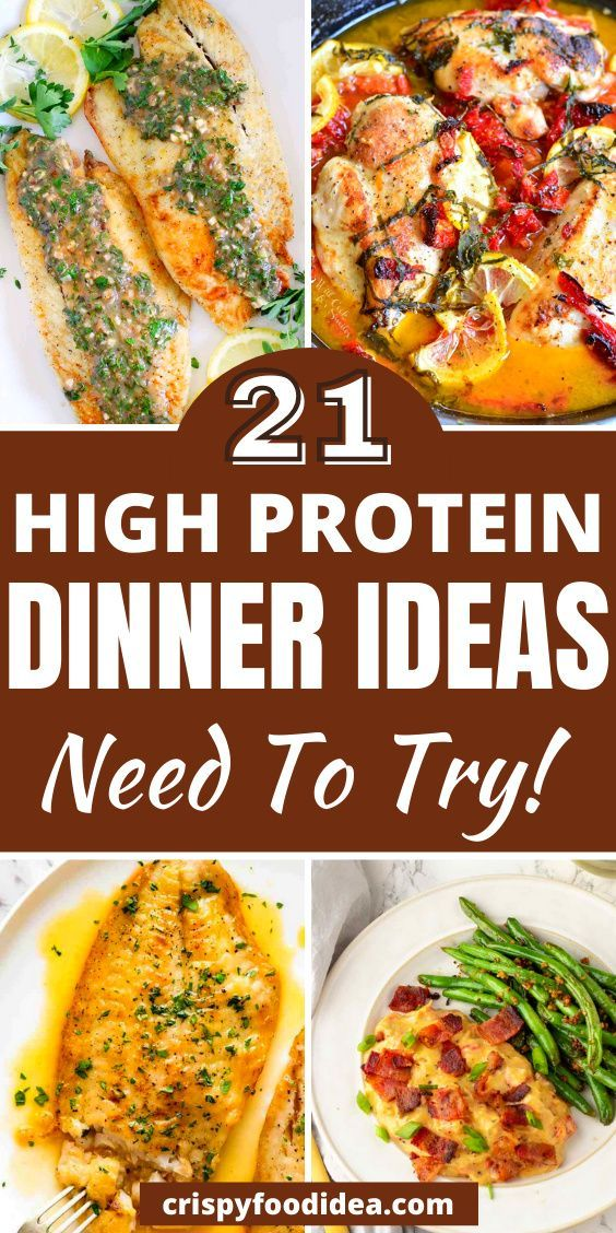 high protein dinner recipes