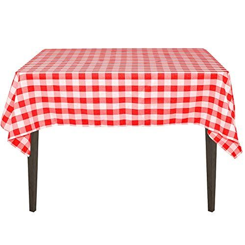 Yryie 54 Inch Square Polyester Buffalo Check Plaid Tablec Https