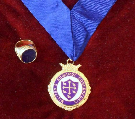 Signet ring & neck order of a Knight Commander