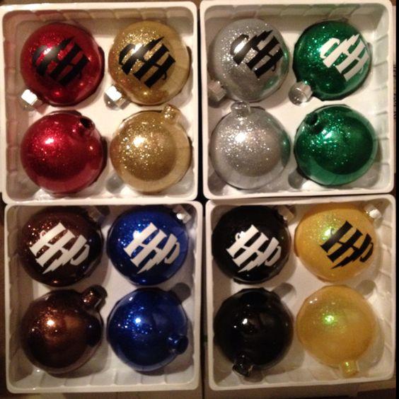 Harry Potter Christmas Tree Ornaments.
