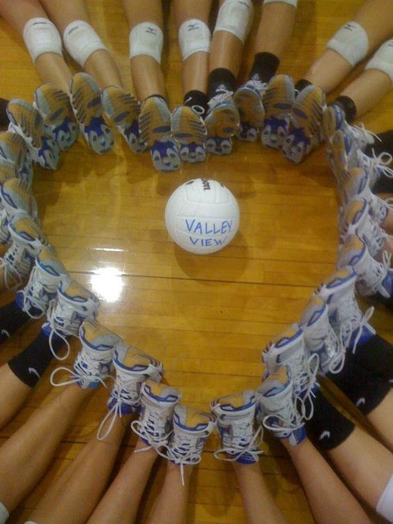 this is so cute! the volleyball team needs to do this! @Carrie Mcknelly Mcknelly Harr