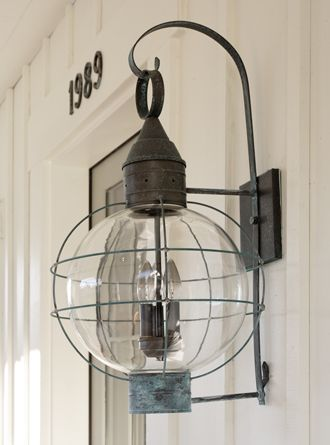 nautical lighting - love this!