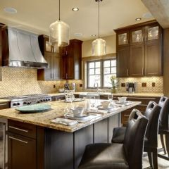 Love the cabinets...contemporary kitchen by Slifer Designs