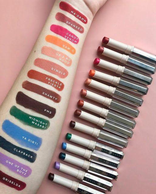 Lip Drama Fenty Beauty Mattemoiselle Lipstick Collection Beauty Lipstick Green Lipstick Lipstick Collection