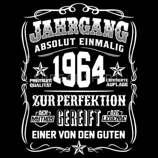 Jahrgang 1964 Geschenk 55 Geburtstag 55 Jahre Manner T Shirt